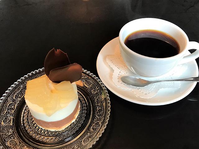 カフェアピエ - ケーキセット2