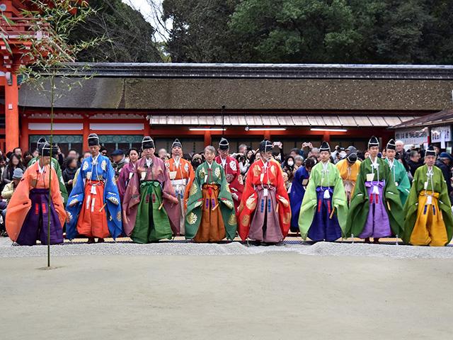 下鴨神社 - 蹴鞠1