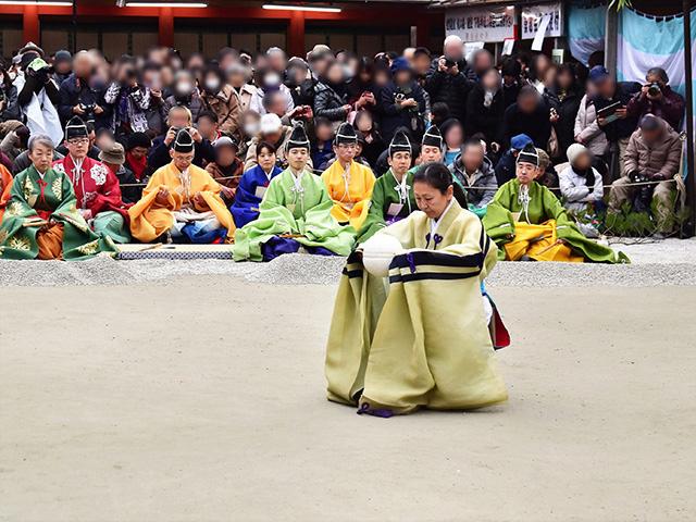 下鴨神社 - 蹴鞠2