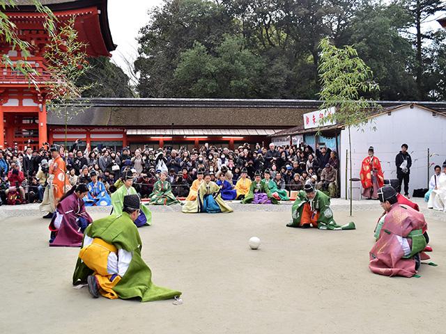 下鴨神社 - 蹴鞠3