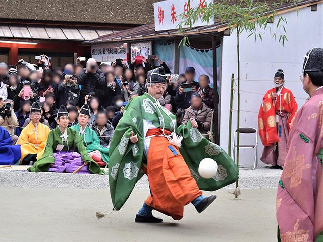 下鴨神社 - 蹴鞠4