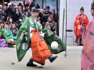 下鴨神社の「蹴鞠はじめ」EC