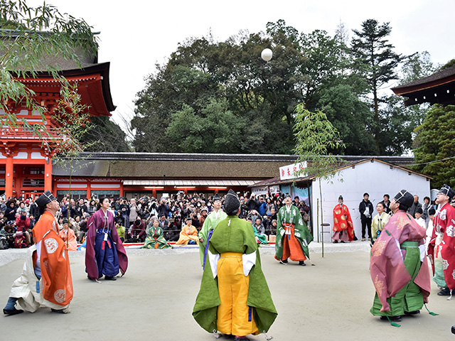 下鴨神社 - 蹴鞠5
