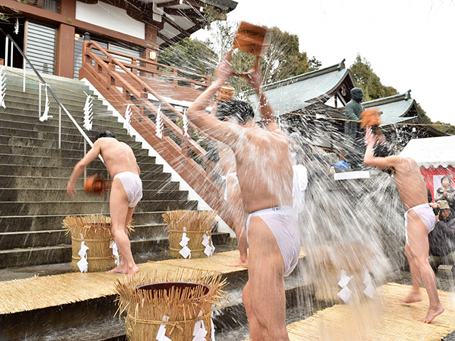 妙円寺(松ヶ崎大黒天)- 加持大祭の水行2