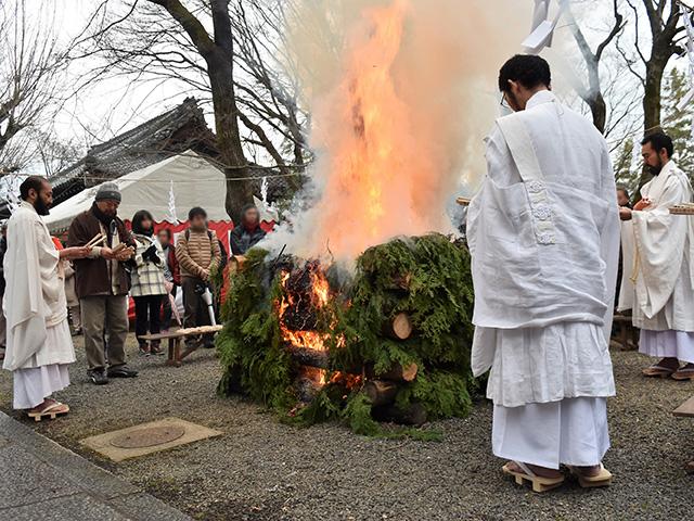 妙円寺(松ヶ崎大黒天)- 加持大祭のお火焚祭
