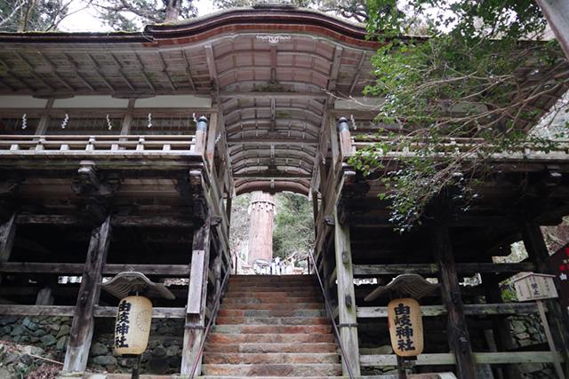 由岐神社 - 拝殿2