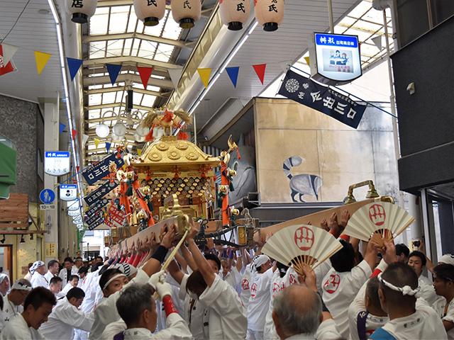御霊祭(御霊神社)- 小山郷