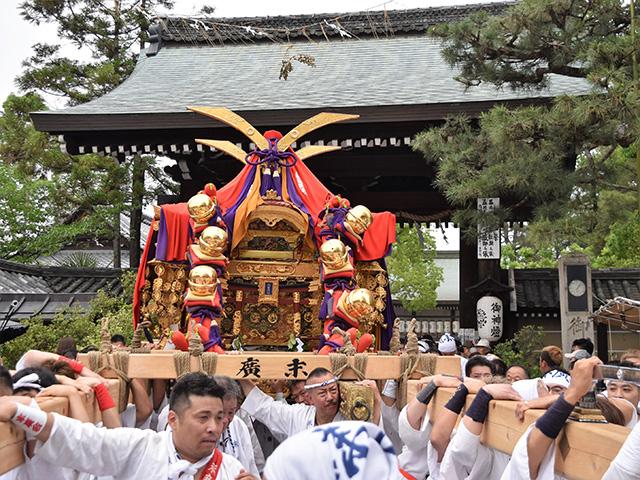 御霊祭(御霊神社)- 末廣