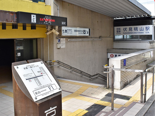 京都一周トレイル(東山コース)- 標識