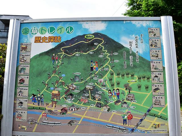 京都一周トレイル(東山コース)- マップ