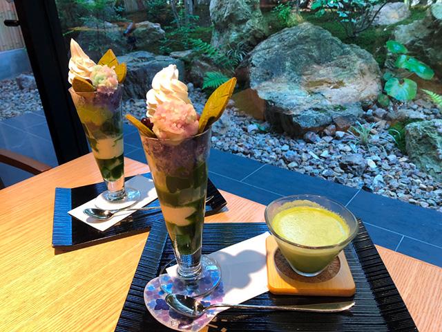 紫陽花茶会(伊藤久右衛門本店)