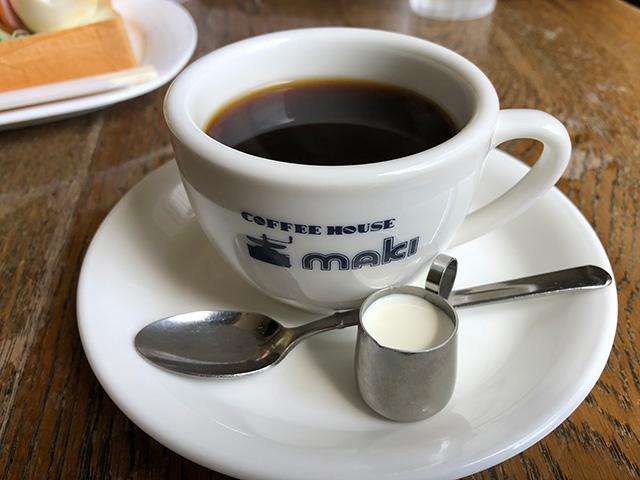 コーヒーハウス マキ - コーヒー1