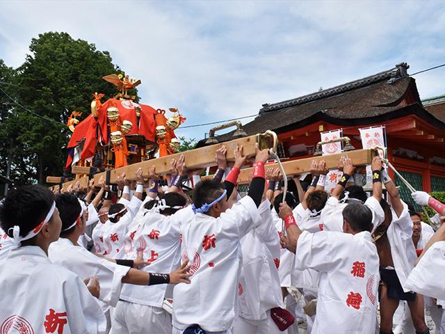 折上稲荷祭(折上稲荷神社)- 神輿1