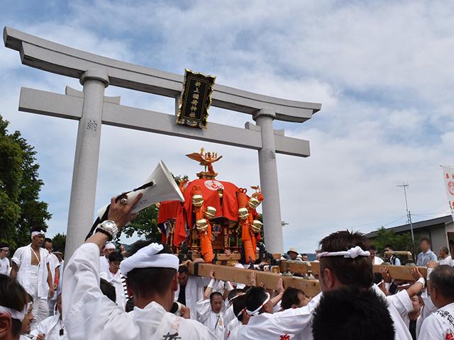 折上稲荷祭(折上稲荷神社)- 神輿2