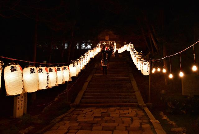 愛宕神社の「千日通夜祭」EC