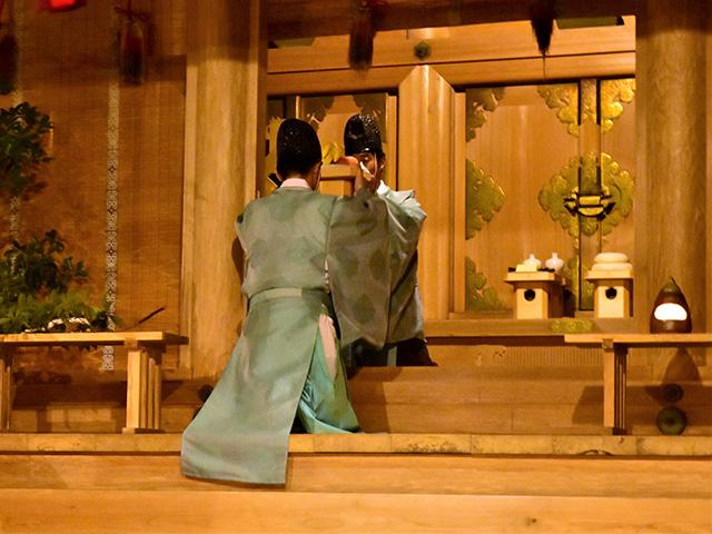 千日詣り神事1(愛宕神社)