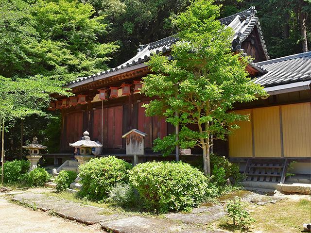 尊勝院(京都一周トレイル)