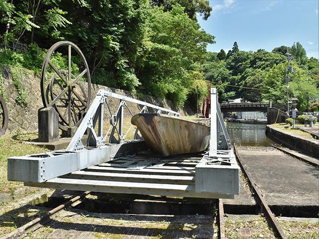 船と台車(京都一周トレイル)