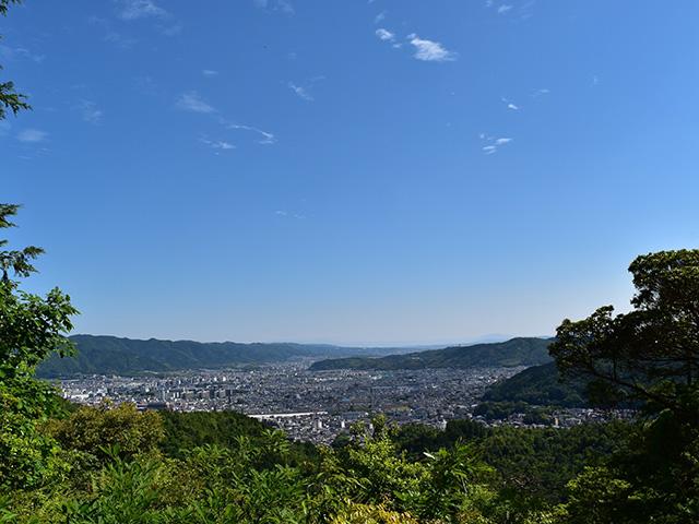 山科展望所(京都一周トレイル)