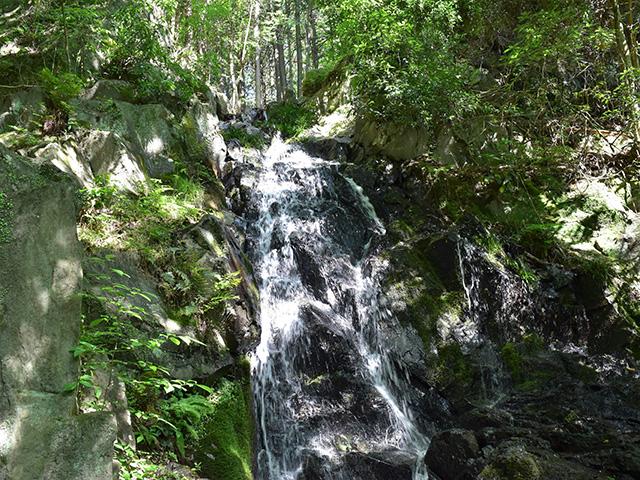 楼門の滝(京都一周トレイル)