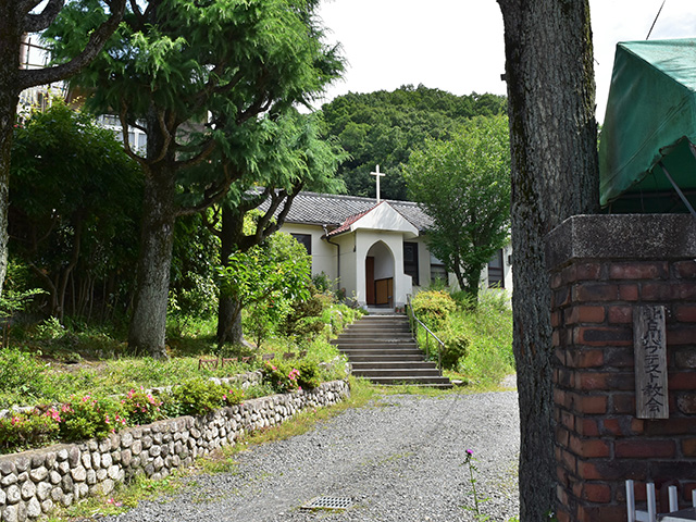 北白川教会(京都一周トレイル)