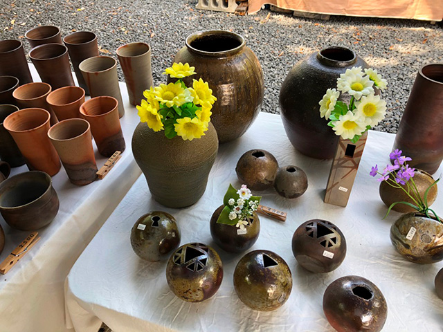 千本釈迦堂の陶器市3