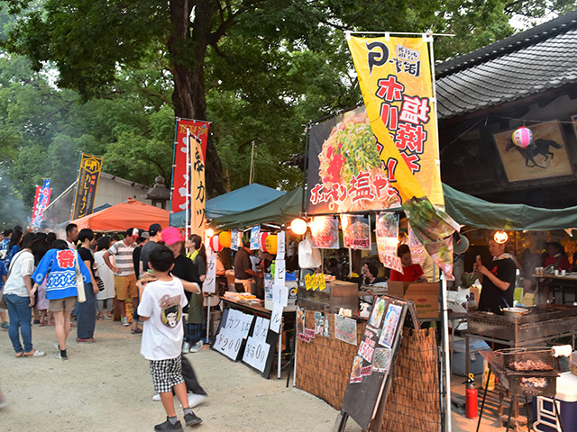 藤森盆踊りフェスティバル - 屋台