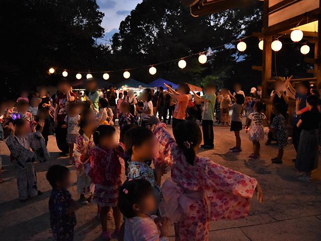藤森盆踊りフェスティバル - 盆踊り1