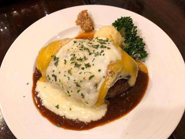 キッチンパパ - チーズハンバーグ