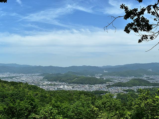 山道(京都一周トレイル)