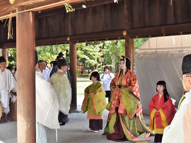 重陽神事 お祓い(上賀茂神社)