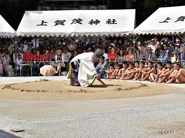 重陽神事 祈願1(上賀茂神社)