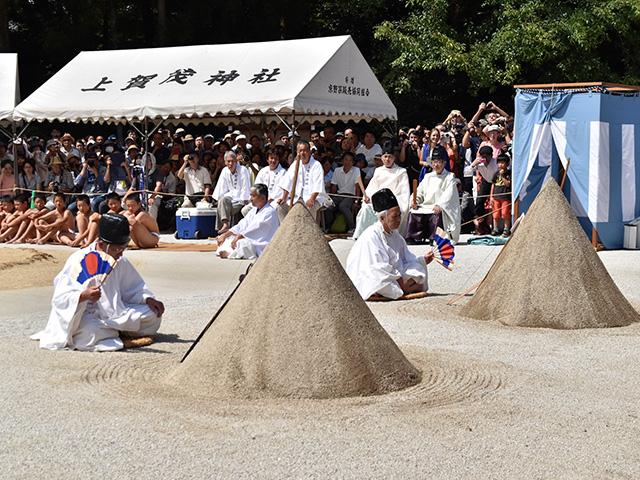 重陽神事 祈願3(上賀茂神社)