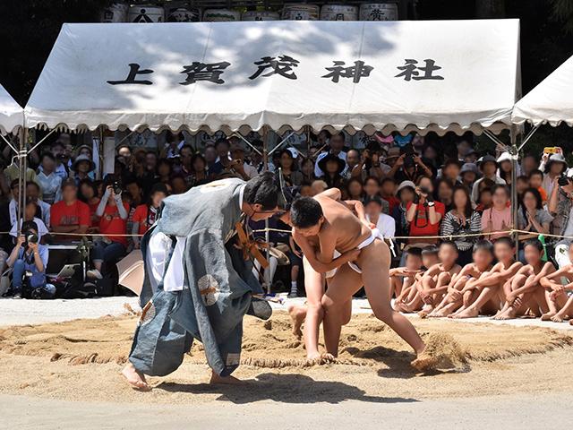 重陽神事 烏相撲2(上賀茂神社)