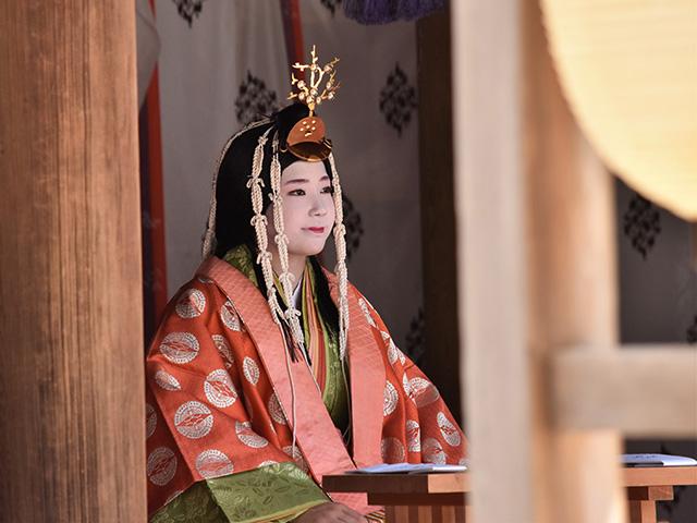 重陽神事 烏相撲3(上賀茂神社)