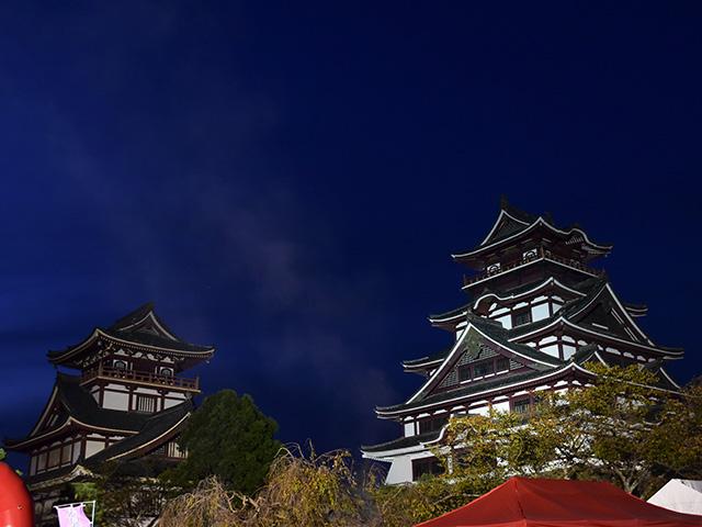 伏見お城まつり 夜の部1