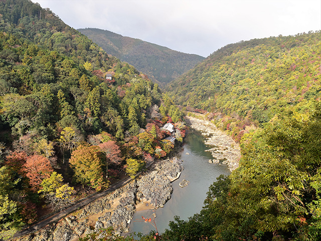 亀山公園(京都一周トレイル Vol.12)