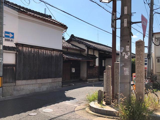 寺戸町梅ノ木の道標