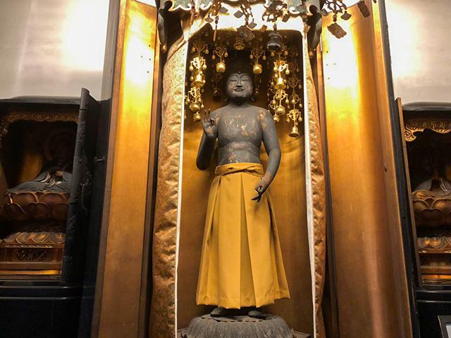 轉法輪寺 - 裸形阿弥陀如来像
