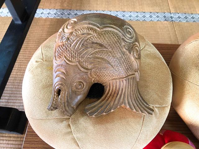 轉法輪寺 - 木魚3