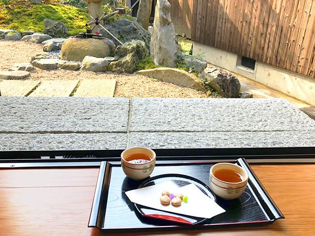 正寿院 お茶とお菓子