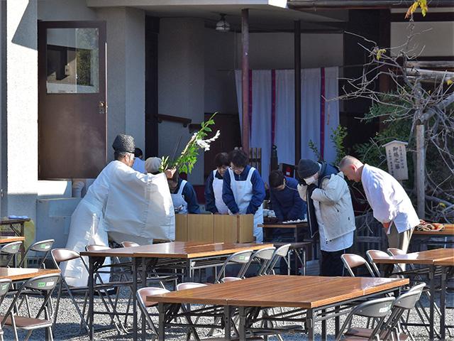 若菜節句祭(西院春日神社)
