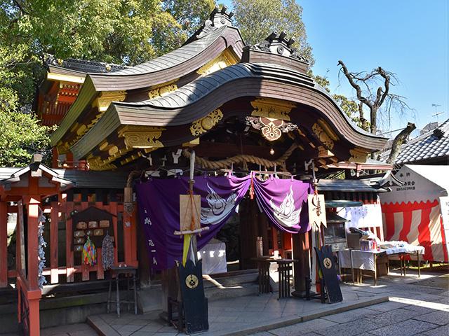 満足稲荷神社 - 本殿