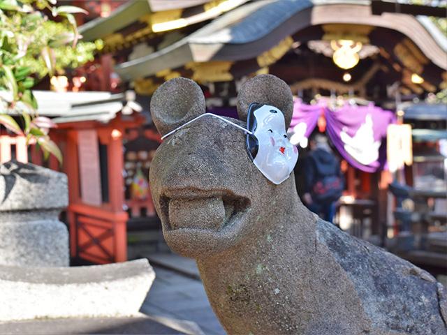 満足稲荷神社 - ツネ松