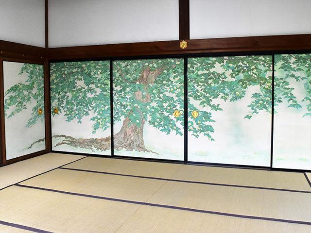 妙心寺・龍泉菴 - 障壁画2
