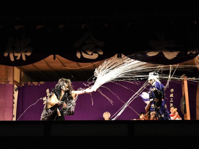 清凉寺の嵯峨お松明式 - 狂言3