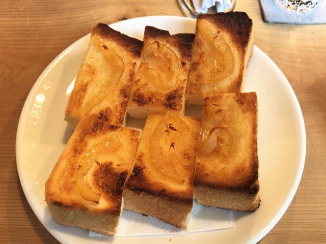 菊しんコーヒー - トースト