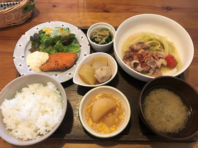 れぶんcafe - 定食2