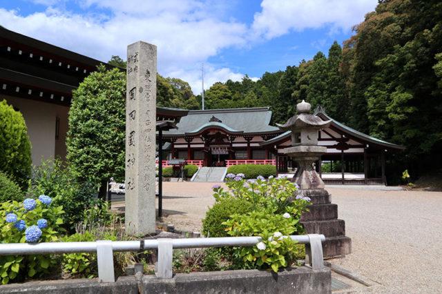 岡田国神社(山背古道)