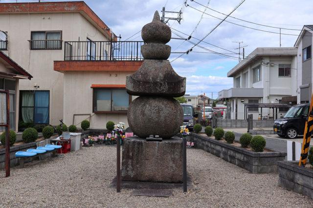 惣墓五輪塔(山背古道)
